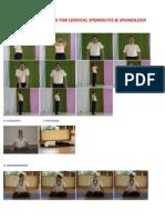 Yogic Practice for Cervical Spondilitis & Spondilosis.