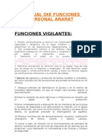 Manual de Funciones Personal Ararat