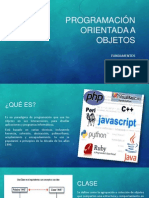 PROGRAMACI�N ORIENTADA A OBJETOS.pptx