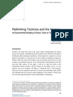 Rethinking Technics and the Human_Morita