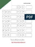 Conciencia Fonologica de Palabras 5