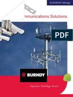 Burndy Telecom Solutions Brochure