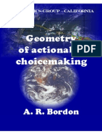 Geometry of Actionable Choicemaking