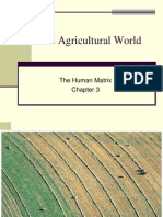 The Agricultural World - Part I