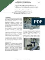 Pruebas en Modelo Del Flujo Transitorio en Tuberias HDPE