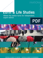 Division on Earth and Life Studies Brochure