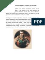 3 DE FEBRERO NATALICIO DEL MARISCAL ANTONIO JOSÉ DE SUCRE