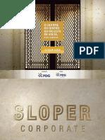 SLOPER CORPORATE PDG VENDAS TEL. 55 (21) 7900-8000