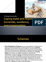 Coping Styles and Responses. Surrender, Avoidant, Overcompensation
