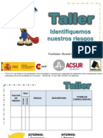 2. PEC Taller Identifiquemos Nuestros Riesgos - Ricardo Castellon