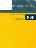 01.Teach Yourself Gaelic