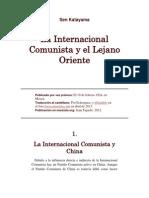 Sen Katayama -  La Internacional Comunista y el Lejano Oriente.docx