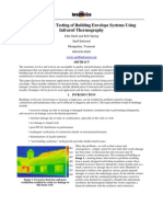Infrared Thermograph y for Building Envelopes