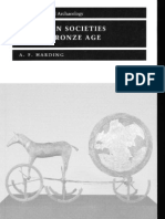 A. F. Harding - European societies in the Bronze Age - Burials