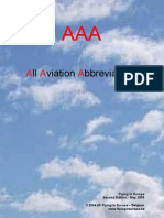 Aviation Abbreviations