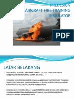 Aircraft Fire Training Simulator