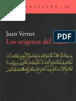 Los Origenes Del Islam Vernet Juan