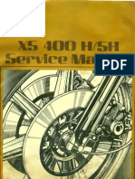 Yamaha XS400 ,SH Service Manual ENG+XS360 2D, XS400 D , E , 2E , F , 2F , G , SG Supplement ENG by Mosue