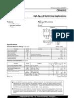 CPH6312 Data Sheets