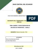 Trabajo Maestria - Geografia Del Transporte