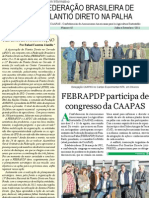 Boletim Informativo_Federacao Brasileira de Plantio Direto Na Palha