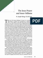 Joseph Wong - The Jesus Prayer and Inner Stillness