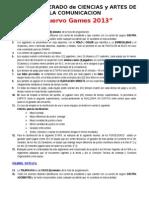 Bases Deportes - Comunica 2013