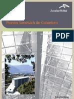 Paineis Sandwich de Cobertura ArcelorMittal Construção Portugal_ Dez_2011