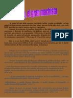 Pablo, el Gran Machista - Por Claudio Popa