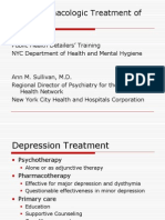 Non-Pharmacological Treatment of Depression