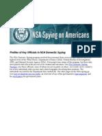 Profiles NSA
