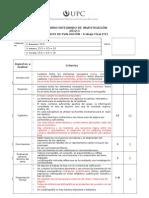 Trabajo Final de Seminario 2012-2