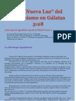 7. CG-La 'Nueva Luz' Del Feminismo en Gal 3.28-Parte.2 por Claudio Popa