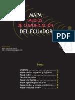 Mapa de medios de comunicación del Ecuador