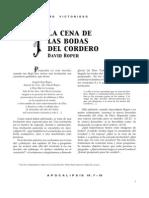 David Roper_las Bodas Del Cordero