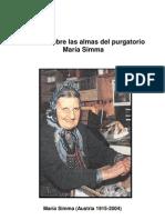 María Simma - Sobre el Purgatorio