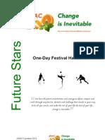 jisac one-day fesitival handbook