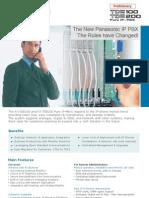 TDE100 200 Brochure