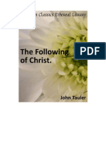 The Following of Christ - John Tauler