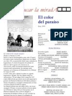 El Color Del Paraiso