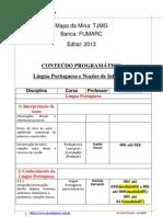 188 Mapa Da Mina TJMG EVP PDF 1 2013 Oficial Judiciario Especialidade Oficial de Justica Avaliador