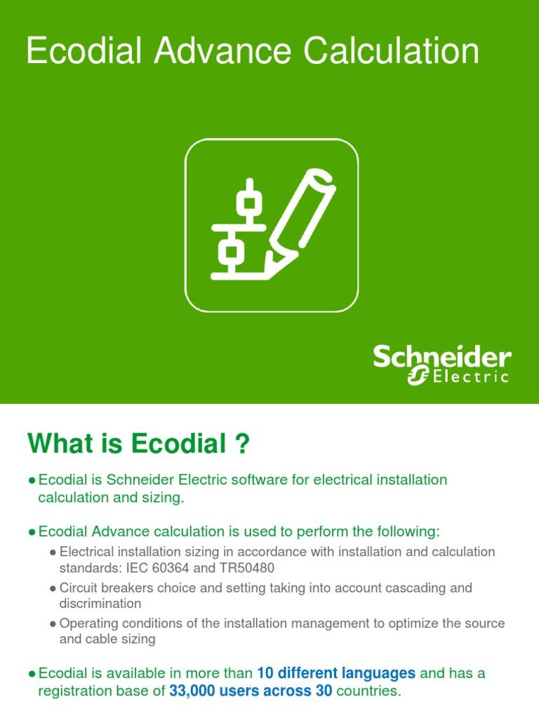Ecodial Advance Calcualtion India