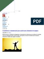 Consultoria e comunicação para motivação esfuziante de equipes» Blog da DoceShop