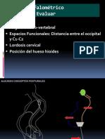 Trazado Cefalometrico Craneo Cervical