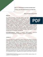 Artigo_O ACESSO +Ç JUSTI+çA E A INSTRUMENTALIDADE DO PROCESSO