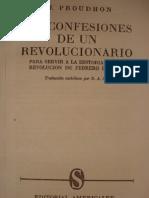 Proudhon Confissoes Texto1