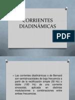 CORRIENTES DIADINÁMICAS