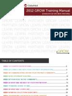 GROW Training Manual 2012