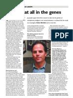 The Psicologist - nem tudo está nos genes
