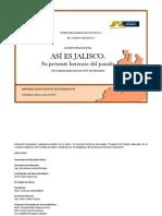 Asi Es Jalisco Su Presente Herencia Del Pasado